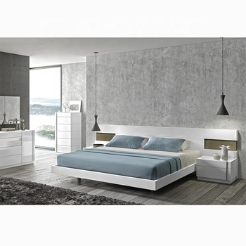 Modern Luxury Bed Room Furniture MHAA016 Wood Beds King Size Bed