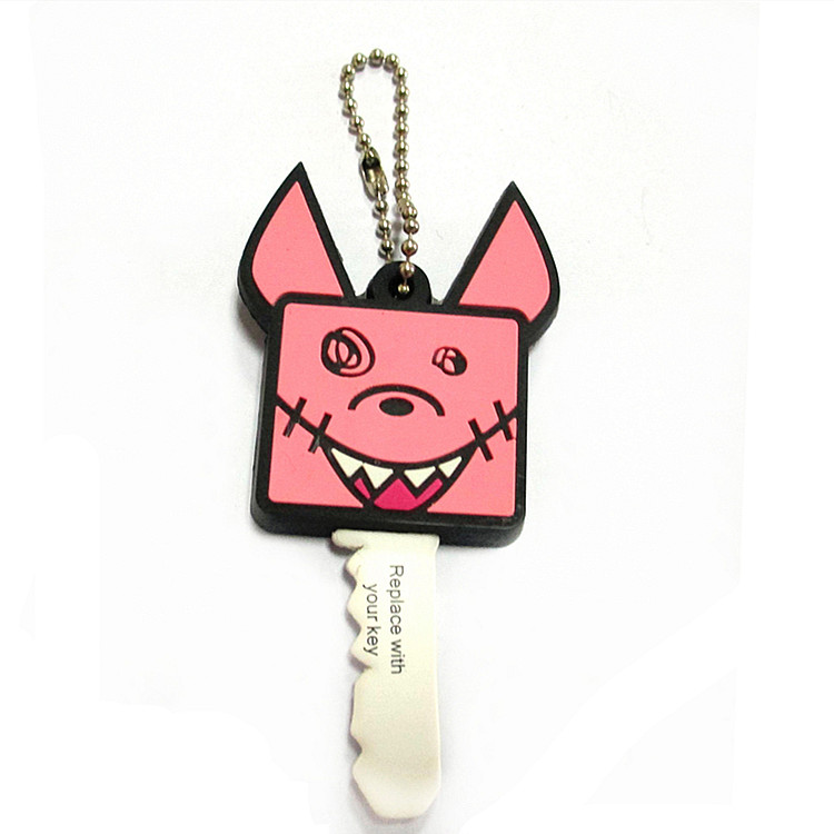 Promotional portachiavi personalizzato keyring customized cute 3d pvc rubber keychain custom logo pvc silicone key chain