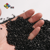 Plastic raw material LDPE/HDPE/PP/PET granules plastic raw material prices film blowing grade black masterbatch
