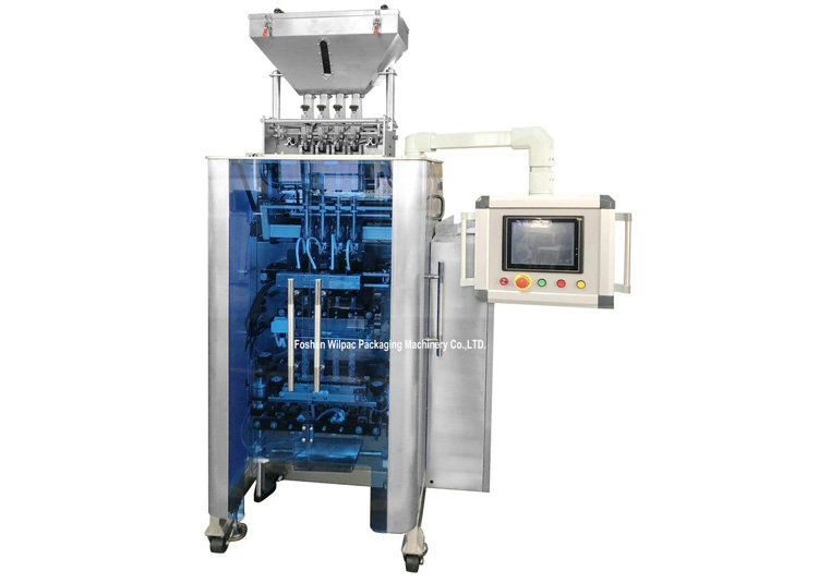 2~6 Lanes Filling High Speed Multi Lanes Sealing Packing Machine For Powder