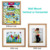 Picture Frames Made of Solid Wood and High Definition Acrylic Wooden Photo Frame