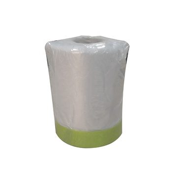High quality protective plastic masking film roll for use in painting
