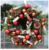 2019 New Red Christmas wreath  Artificial pinecone Christmas Wreath