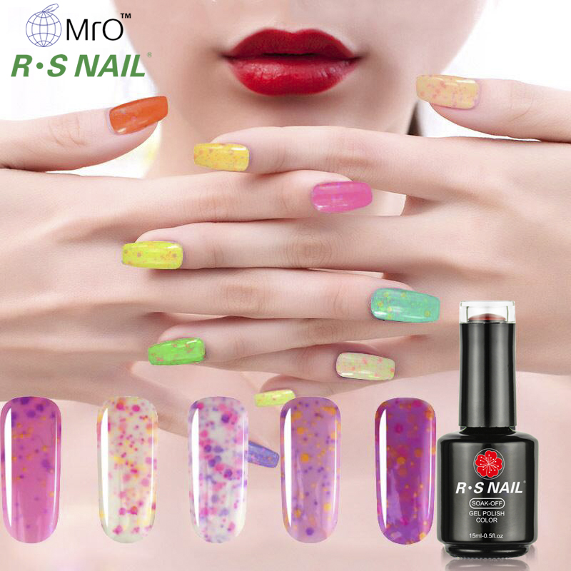 Free sample RS Nail heyuan factory uv <strong>gel</strong> polish cheese <strong>gel</strong> nail polish 8ml/10ml/15ml customized private label