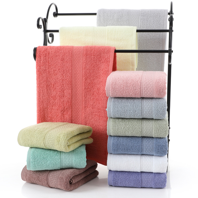 Hot Japanese style cotton plain gift bath towel cotton soft hotel exquisite gift <strong>12</strong> color custom <strong>logo</strong>