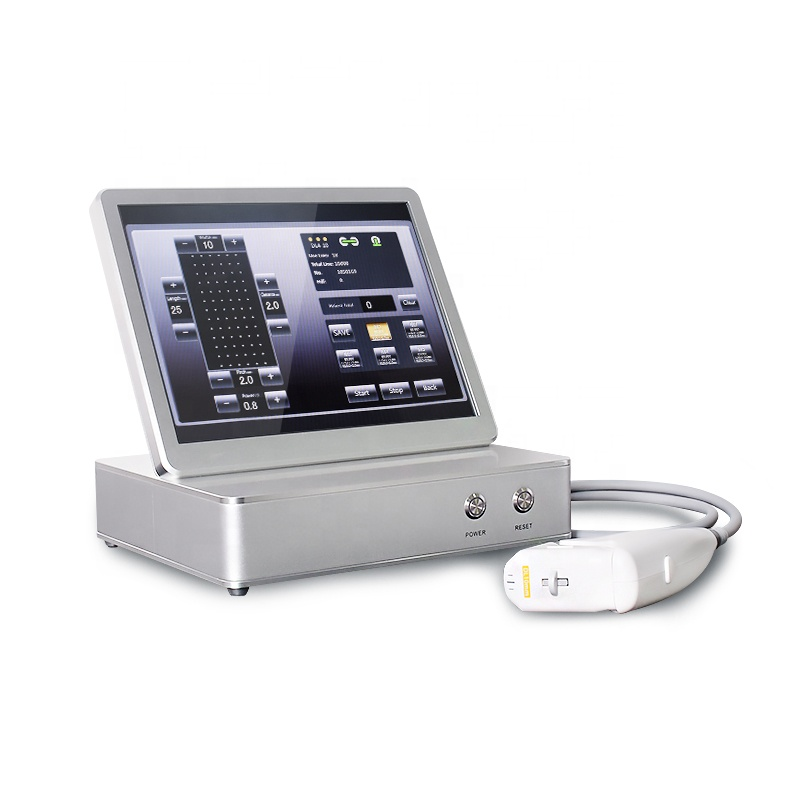 high intensity focused ultrasound 3d hifu 12 lines Face Lift Body Slimming Skin Tightening Hifu 4D Machine