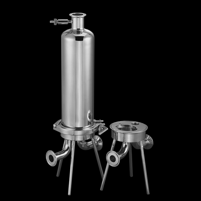 Stainless steel filter housing for sanitary liquid <strong>filtration</strong> WITH 304 316L Material