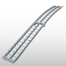 TS16949 certification aluminum folding arched ATV ramp