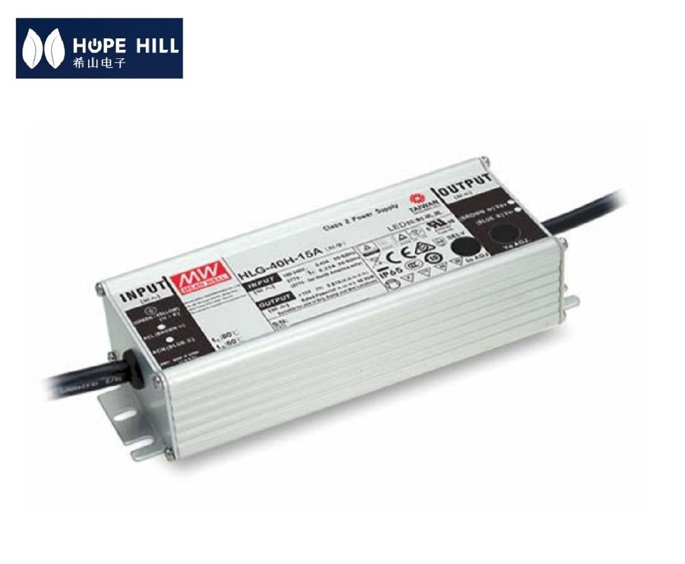 Genuine MEAN WELL HLG-40H-12A 40W 12V output LED <strong>DRIVER</strong> LED POWER SUPPLY