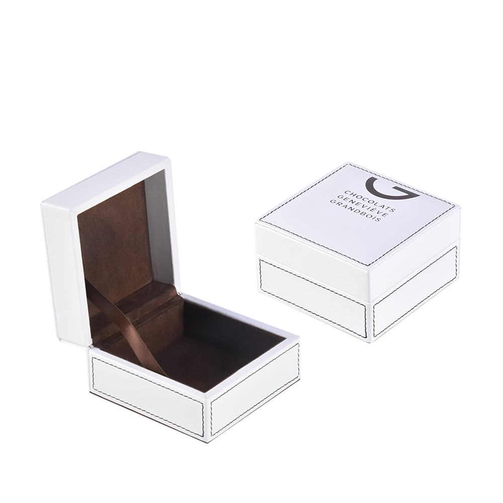 High-end custom logo luxury leather small gift packaging/storaging box