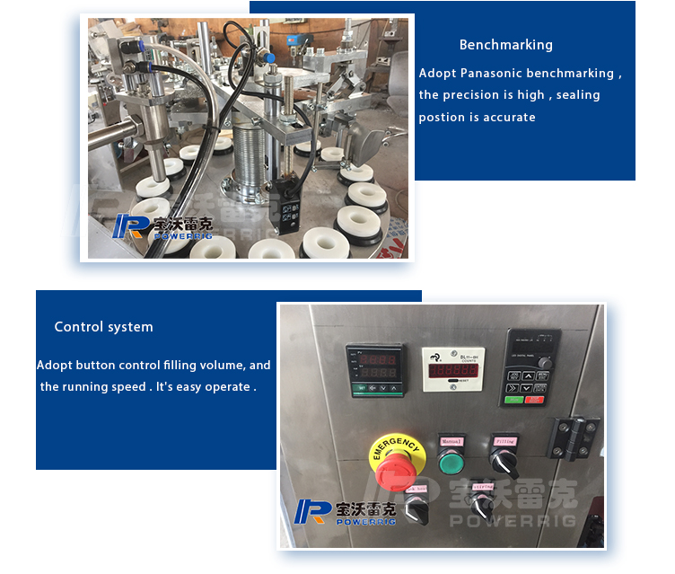 Hot sale semi automatic aluminium tube filling sealing machine for ointment and gel