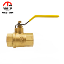 NPT ball valve wog valve price Full port Thread CW617n brass ball 2pc 2 inch brass gas ball valve with Certification