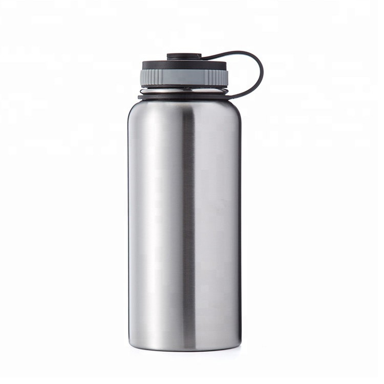 Eco-friendly FDA Certification Customizable BPA Free Reusable Water Bottle 1L Stainless <strong>Steel</strong>
