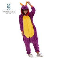 Adult Kids Cosplay Costumes Purple Dragon Onesie for Unisex Dance Fancy Pajamas Party Children's Day