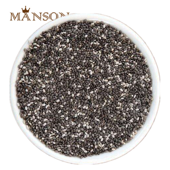 Food Supplement Products Packaging 1kg/bag 25kg/bag Bulk Organic Certified Black/White Chia Seeds with private label