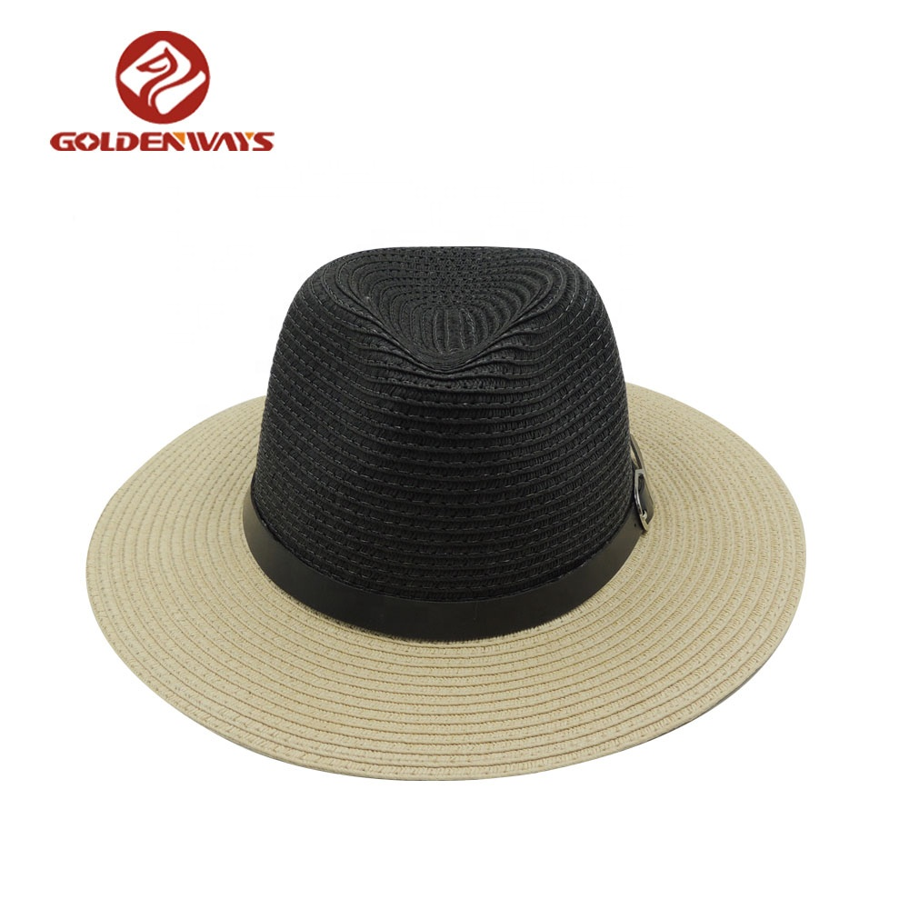 Fashion Promotional Panama Straw Hat Women