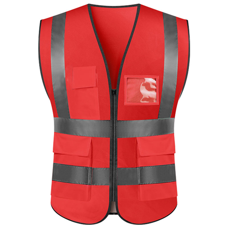 wholesale cheap China <strong>safety</strong> waterproof warm reflective vast with pockets