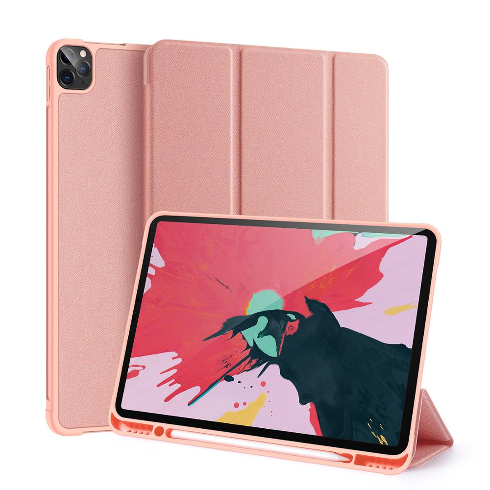 NEW 2020 Tablet Case For <strong>iPad</strong> Pro 12.9 Case, With Pen Holder Light Weight Ultra Slim Soft TPU Edge Cover for <strong>iPad</strong> Pro 2020