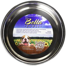 pet food bow large <strong>stainless</strong> <strong>steel</strong> dog bowl pet accessories dog bowl