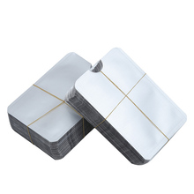Blank Aluminum Foil Card Set Bank Anti-Degaussing Aluminum Foil Card Sleeve To Prevent Card Folding Advertising
