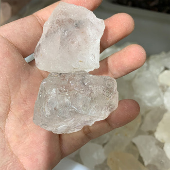 Wholesale natural crystal clear quartz rough crystal clear white crystal for healing