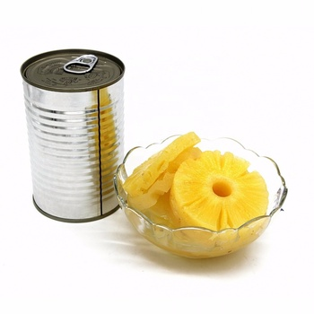 canned pineapple slice / tidbit / chunk / pieces in syrup