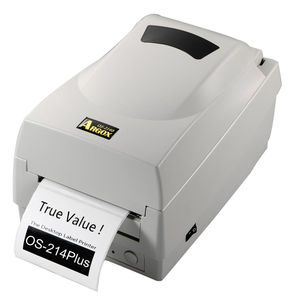 Argox OS 214 plus USB thermal transfer barcode sticker label printer