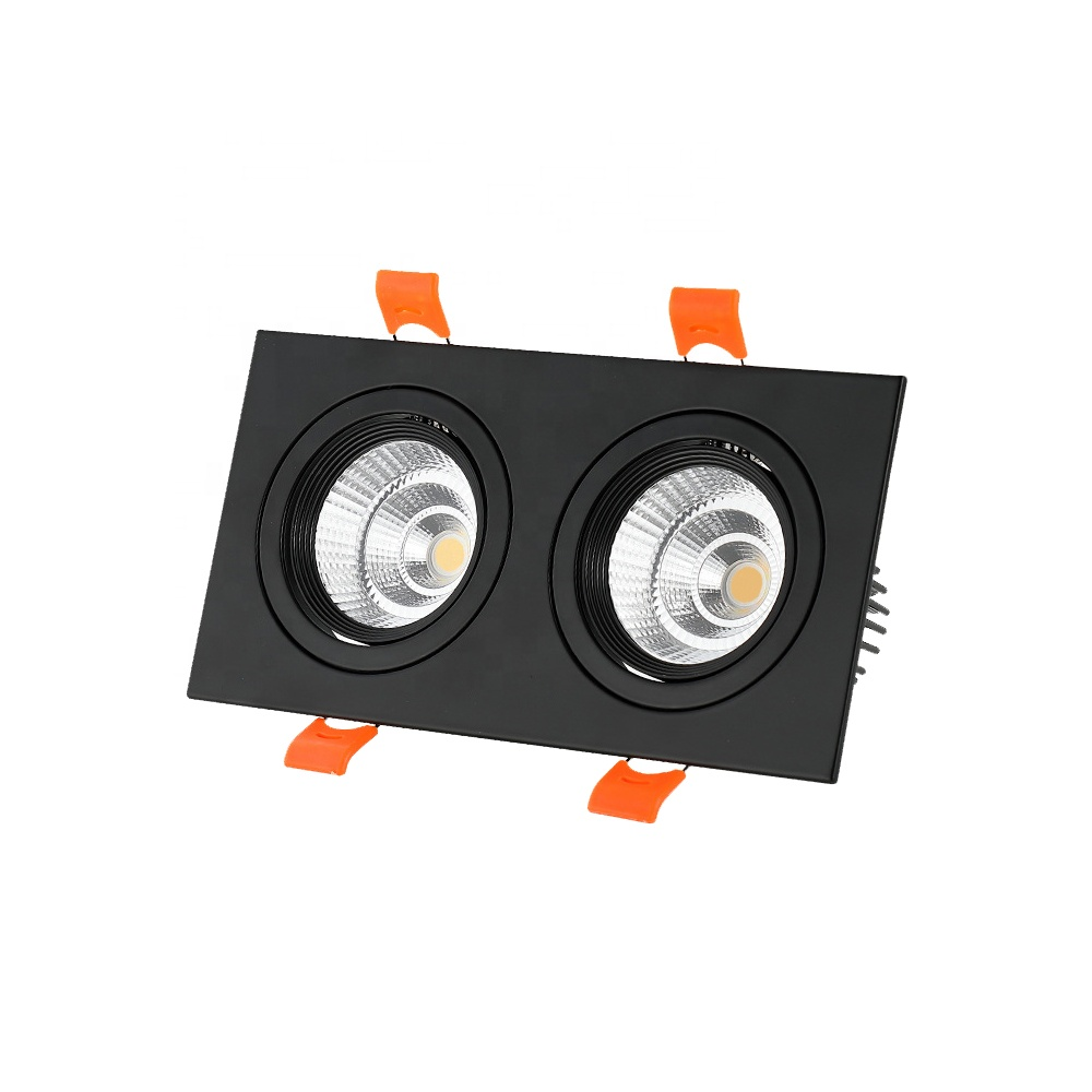 <strong>LED</strong> <strong>Downlight</strong> Bridgelux COB 5W 7W <strong>10W</strong> 15W 20W 30W 45W 60W 70W 90W Recessed Square <strong>LED</strong> Ceiling Light