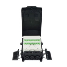 Supply outdoor equipment optical fiber distribution point box 16 SC/APC in FTTx communication <strong>network</strong> ip67 FTT-H1816X