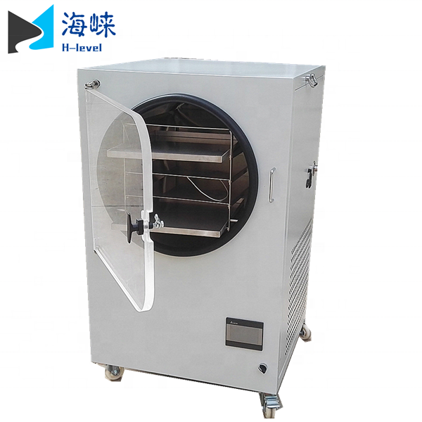 1Kg 2Kg 3Kg 4Kg 10LBS Small Mini Home Laboratory Vacuum Food Freeze Dryer for sale
