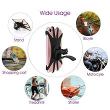 Bicycle Accessaries Bike Mobile <strong>phone</strong> mount strap holder silicone <strong>phone</strong> holder