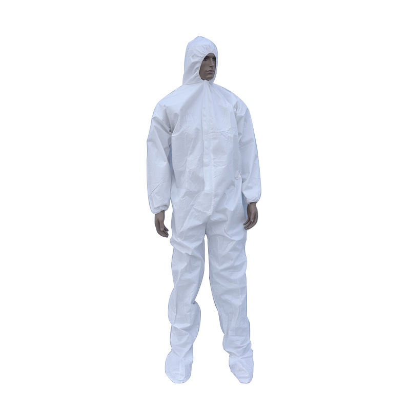 China factory supply directly Disposable Protective Clothing Microporous Waterproof Industrial <strong>Safety</strong> Coverall