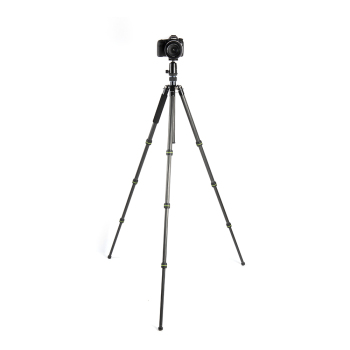 High Quality CNC Carbon Fiber Professional Photography Lightweight Portable Extendable Mobile Phone Digital Camera Tripod Stand