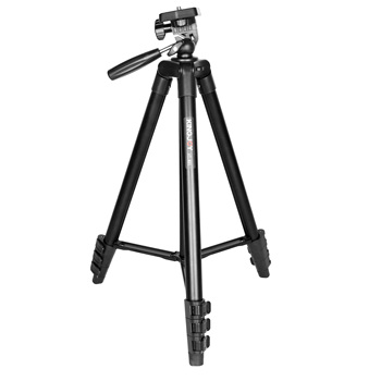 Kingjoy multifunctional aluminum photo tripod for video accessories