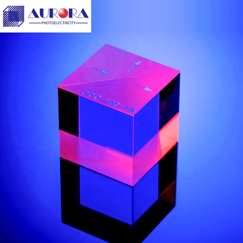 China Manufacture Optical Glass RGB Dispersion Prism X-CUBE,Optical Cube Prism 30mm K9/BK7 Beam Splitter Prism for Optical Field