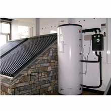 High pressure split solar water <strong>heater</strong> with heat pump