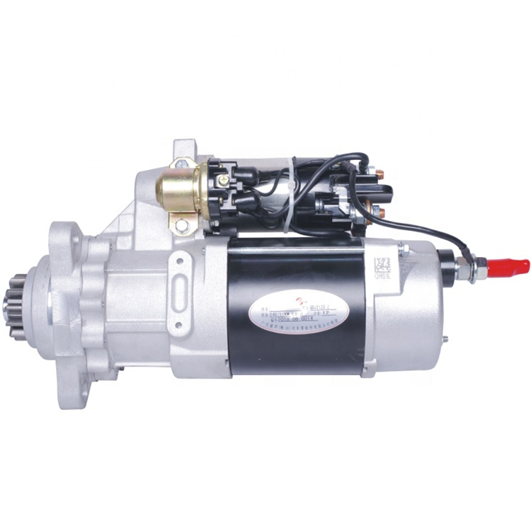 24V 11KW starter motor for VOLVO FH SERIES <strong>D12</strong> / D13 FMX II Engine