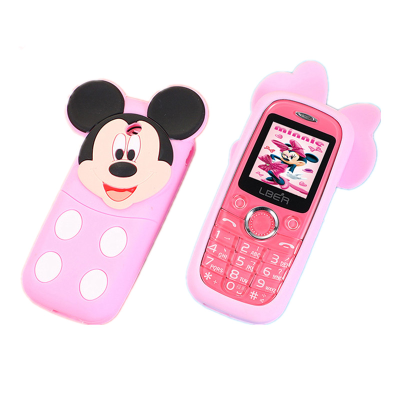 Newest carton <strong>D11</strong> cute mini lovely baby phone Lady Children Kids Mobile Phone unlocked phone with flashlight no <strong>camera</strong>