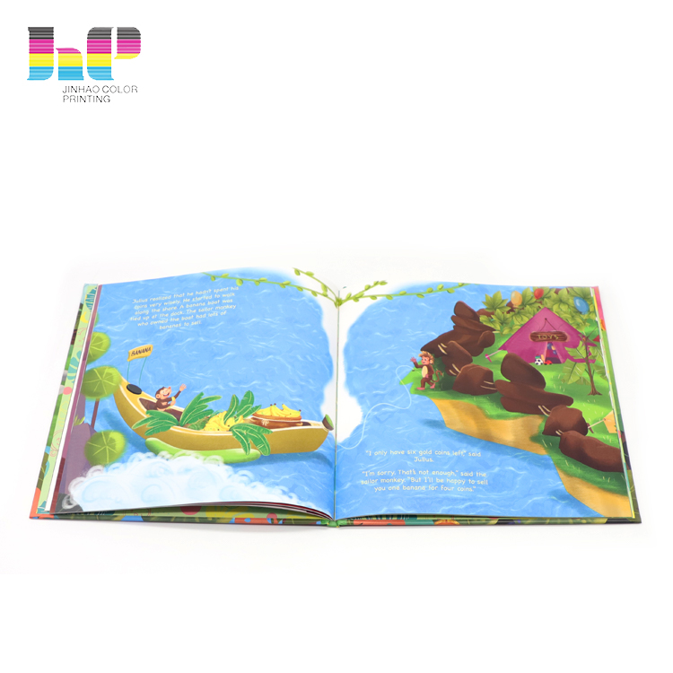 Custom Hardcover Book printing,billingualism hardcover books,print childrens book