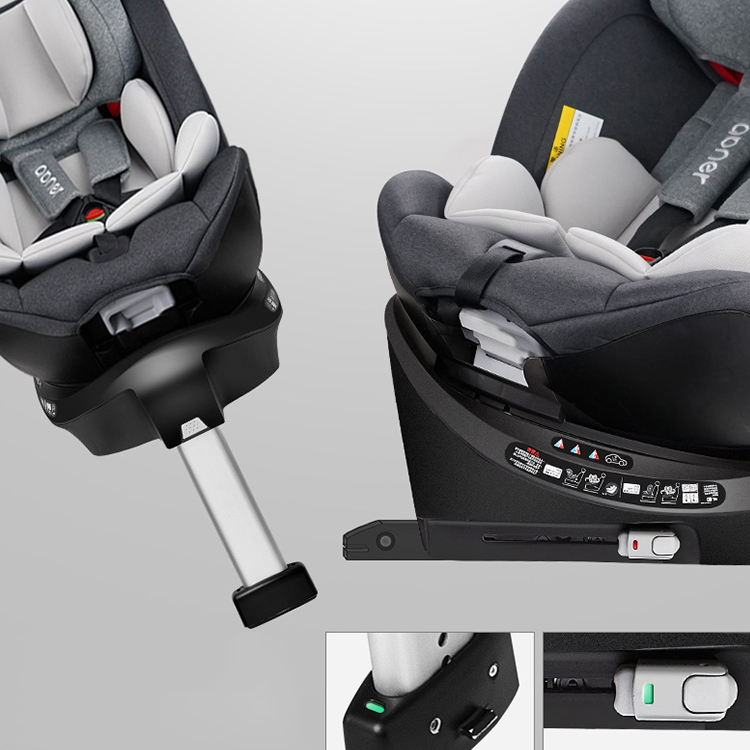 Safety Baby Car Seat with 9 Months-12 Years,Suitable Weight 9KG-36KG ,Portable Car ISOFIX Interface