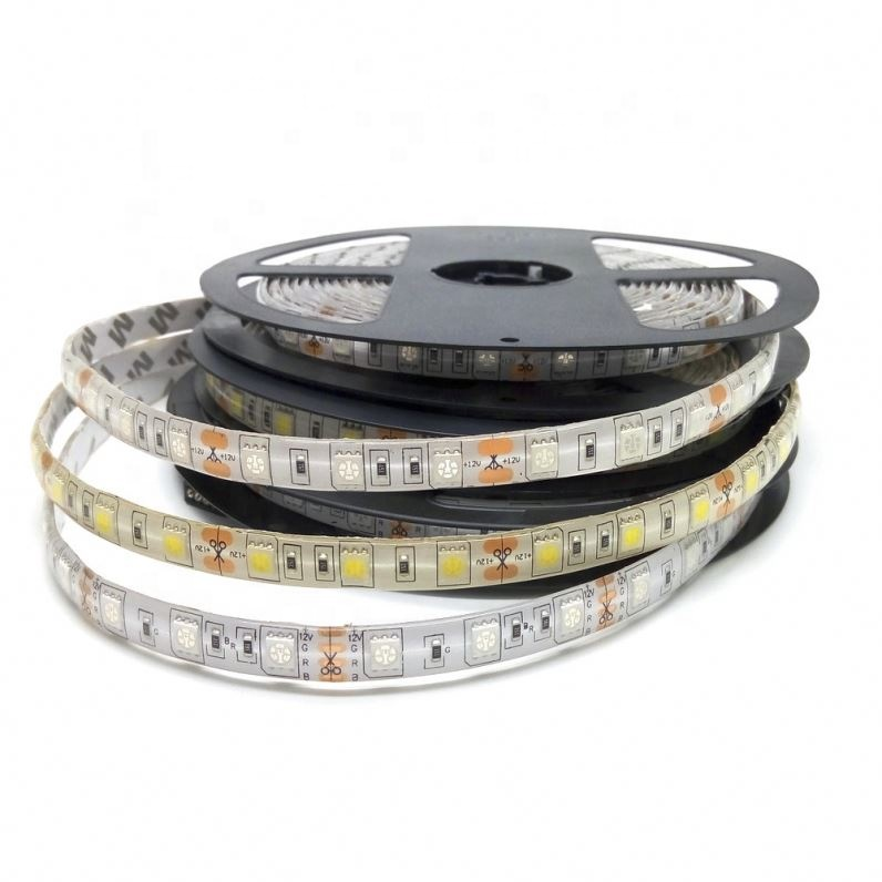 Super bright 14.4w per meter smd 5050 RGB waterproof RGB <strong>led</strong> strip light
