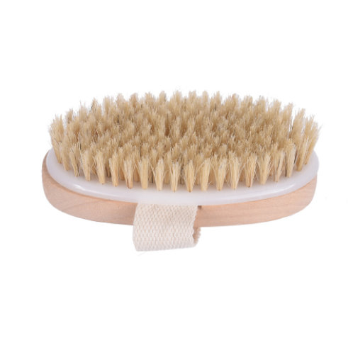 wholesale high quality boar bristles wood bath brush body brush brushes