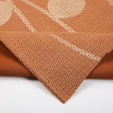New arrival best quality custom foil printing knitted bronzing suede stretch fabric