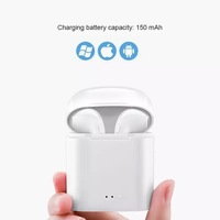 7 Years Factory Customize Waterproof Handsfree i7s TWS mini True Stereo Headphone Wireless Earbuds Bluetooth Earphone