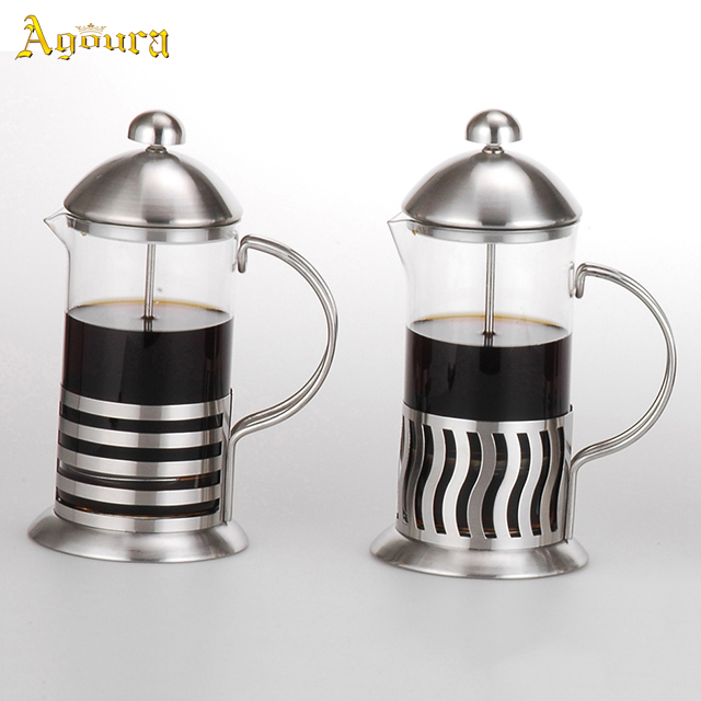 New durable and heat-resistant stainless steel french coffee press