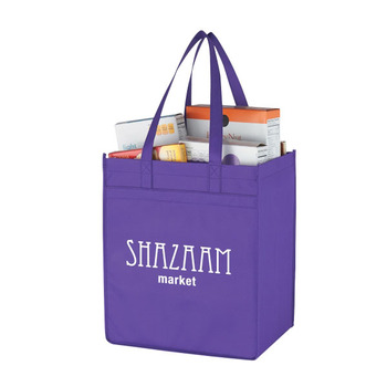 Promotional Non-Woven Market Shopper Tote Bag
