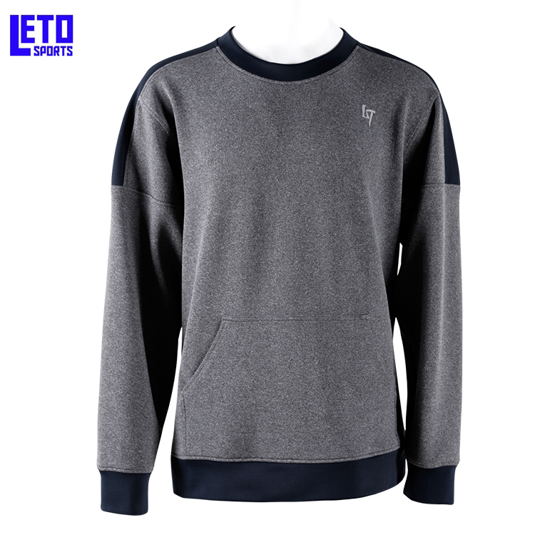 Good Quality Mens Shirt Long Sleeve Athletic Workout Gym Sweatshirt