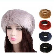 Fashion Wholesale High Quality Ladies Fake Fur <strong>Headband</strong>