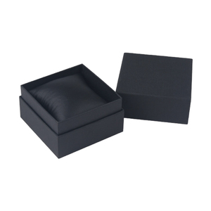 Luxury Paper Black Cheap Single Custom Watch Boxes Cases