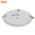 Good price 3w 6w 9w 12w 18w 24w rectangle skyline ultra slim round led flat ceiling panel light